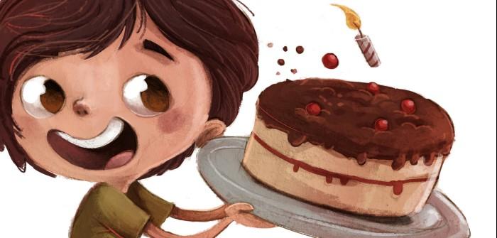 Kuchen bei Hauterkrankung: Immer mit der Ruhe